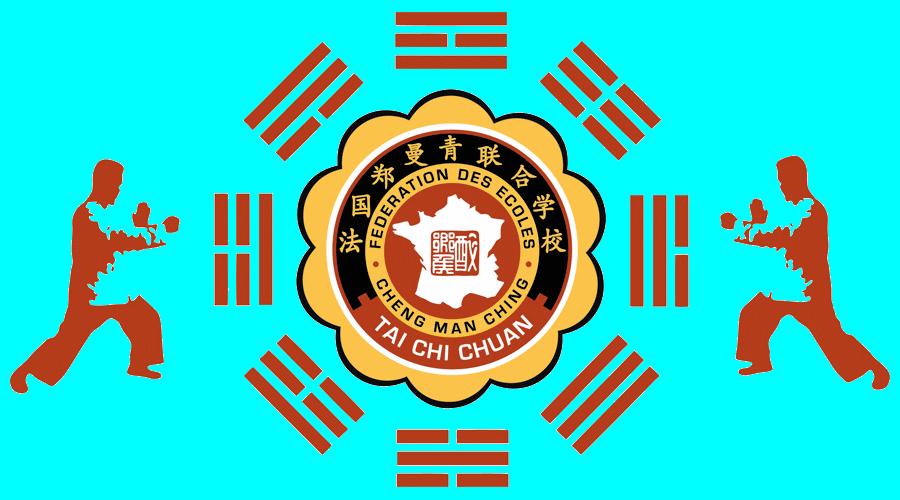 Fanion de la Fédération des Écoles Cheng Man Ching